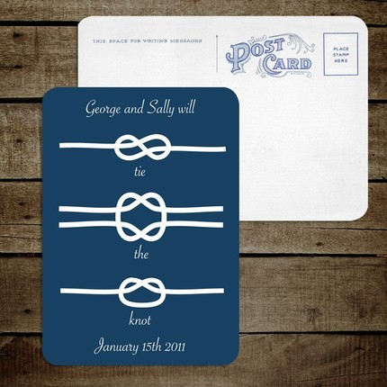 A DIY nautical wedding invite available from 39i do 39 it yourself