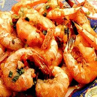 hot shrimp