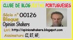 Membro do Clube de Bloguistas Portugueses
