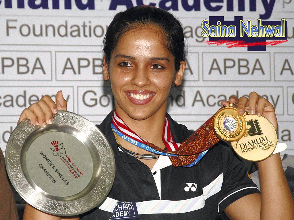 Saina Nehwal Gallery and Wallpapers