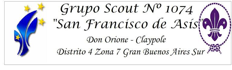 "Grupo Scout Nº 1074 ""San Francisco de Asís"""