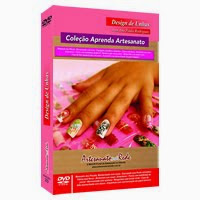 Dvd unhas decoradas com Ana Paula Rodrigues