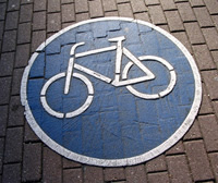 cycle lane icon