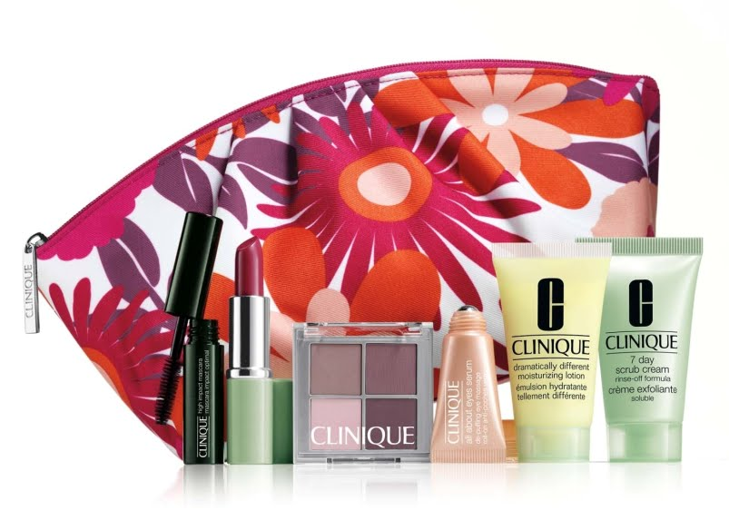 It's Clinique GWP time at The Bay!