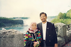 At the Niagara Falls - 1994