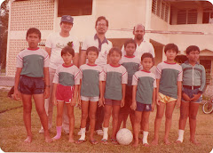 Marmar Satu United during the Taman Melewar Football League 1985