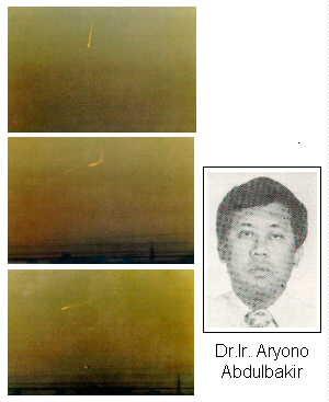 HIASAN QALBU: PENAMPAKAN UFO DI INDONESIA