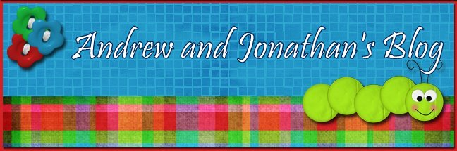 Andrew and Jonathan's Blog