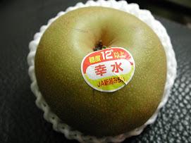 X3,20090902,Japan樽井美樹母女送的日本梨