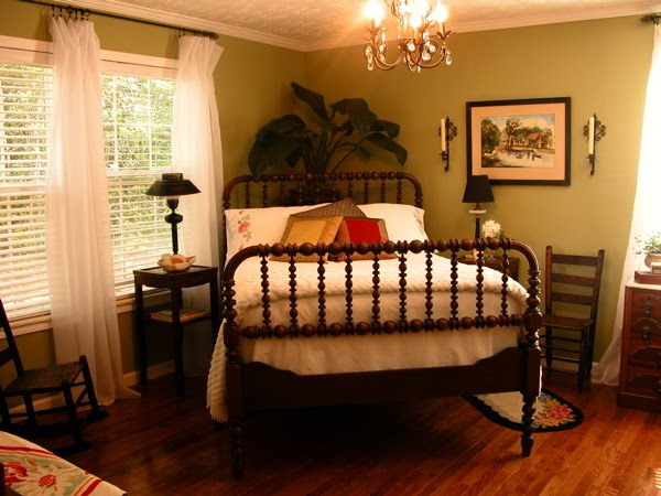 The Bed Is An 1860s Spool Bed In Beautiful Condition Passed Down