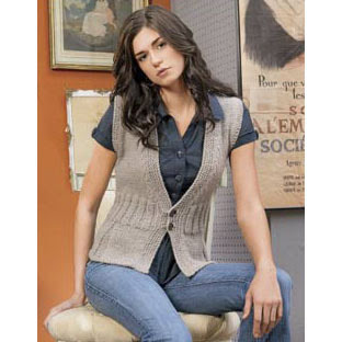 VEST PATTERN WOMEN - PAISLEY PATTERN FABRIC - FREE PATTERNS