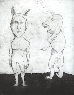 tortoise and hare by ammon perry etching