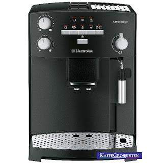 Espressomaskin i bröllopspresent