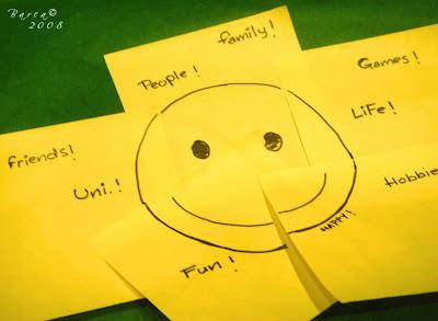 la felicidad y los smilies