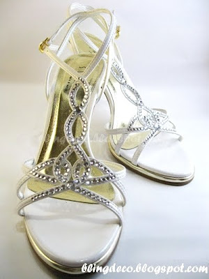 bling deco how to add bling to your bridal shoe