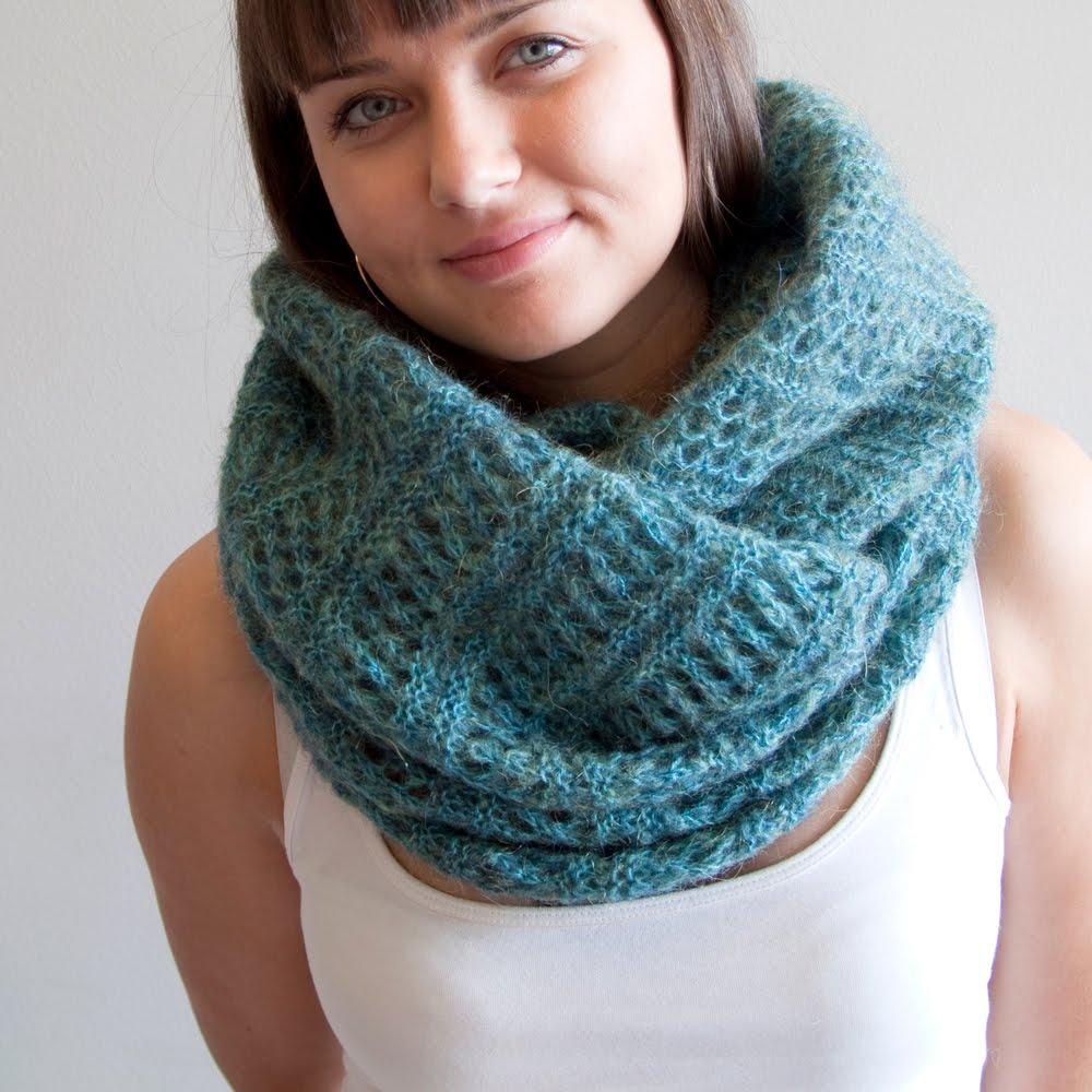 Вязание шарфов и восьмерок 170