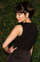 Mary Elizabeth Winstead in a black dress