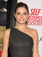Maria Menounos sexy black dress