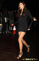 Nina Dobrev Vampire in a sexy little black dress