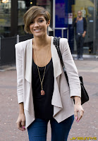 Frankie Sandford candid pictures