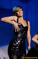 Frankie Sandford on stage