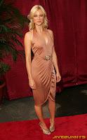 Amy Smart in a revealing dress