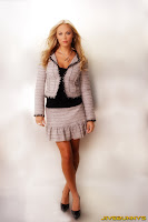 Laura Vandervoort in Beautiful and Stylish Wool Knitting Fashion Model Photoshoot Session