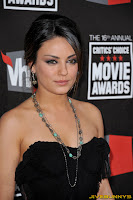 Mila Kunis little black dress at movie awards