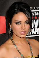 Mila Kunis little black dress at movie awards