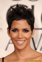 Halle Berry at the Golden Globe Awards