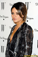Mila Kunis W Magazine Golden Globe party