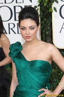 Mila Kunis 68th Annual Golden Globe Awards held at The Beverly Hilton hotel
