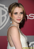 Emma Roberts InStyle Warner Brothers Golden Globes Party at The Beverly Hilton hotel