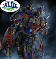 Transformers 2 Superbowl 2009