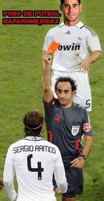 Video de los 4 goles de Higuain al Malaga. Ramos a 2 tarjetas del record de expulsiones de Hierro. Foro de Futbol Rafanomejodas