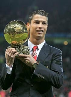 Cristiano Ronalno CR7 balon de oro nuevo jugador Real Madrid