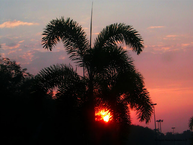 Sunset at Lancang