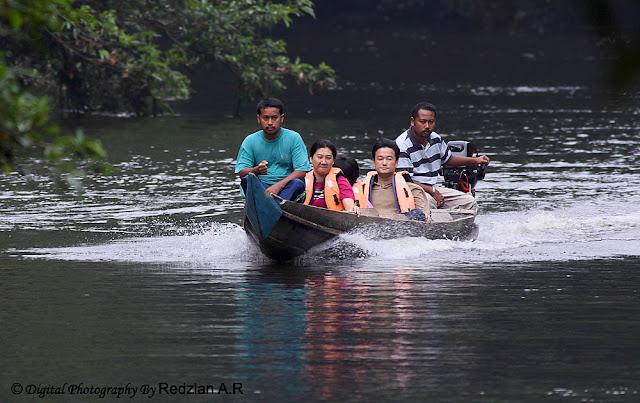 Boat at Taman Negara Pahang