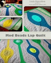 Mod Beads Lap Quilt