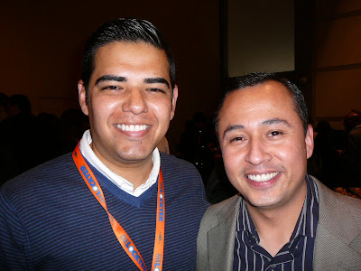 Luis Lopez and Robert Garcia