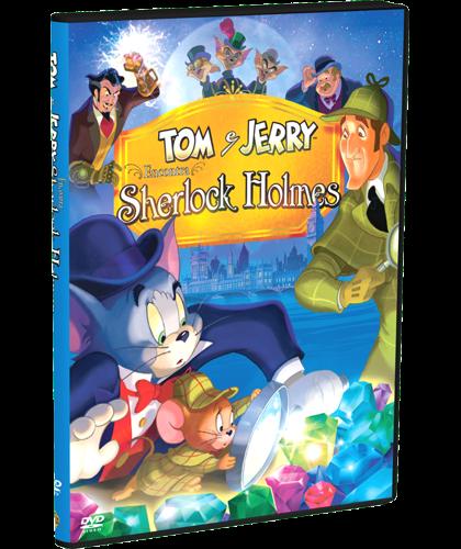 Tom E Jerry Encontre Sherlock Holmes Dublado