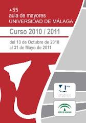 PROGRAMA DEL AULA DE MAYORES DE LA UNIVERSIDAD DE MALAGA