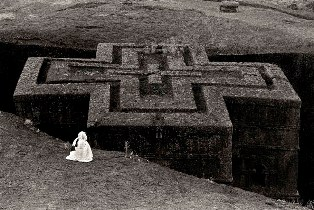 The Rock-Hewn Church of St. George, Lalibela Ethiopia