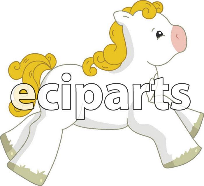 Little baby Horse clip arts