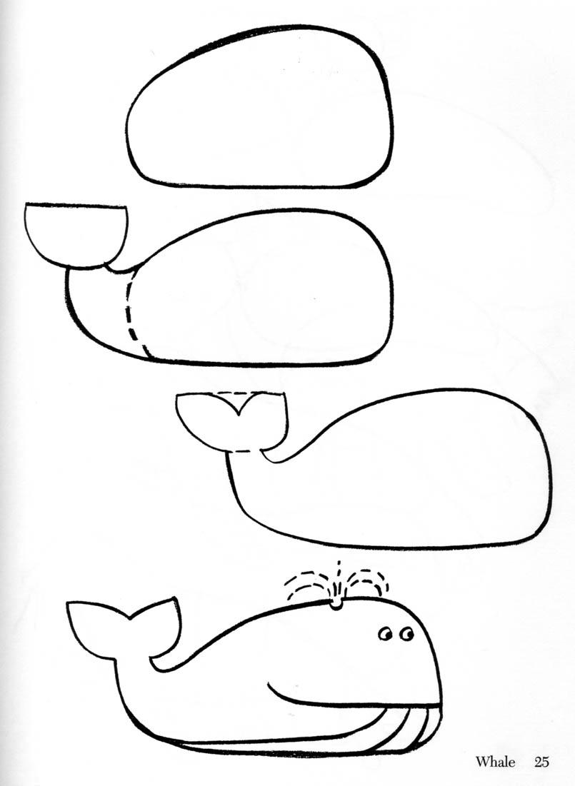 how to draw a dolphin step by step easy