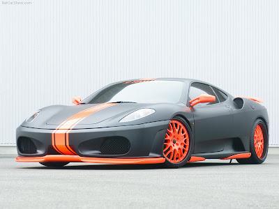 ferrari f430. Hamann Ferrari F430 Black