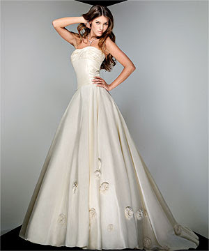 White Custom Wedding Dresses