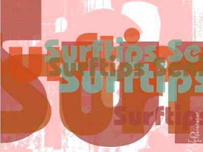 Surftips - Seniorer gjord med TypoGenerator