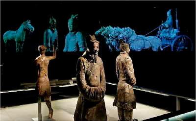 Kejsar Qins lerkrigare