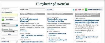 Newscreds nyhetstidning online
